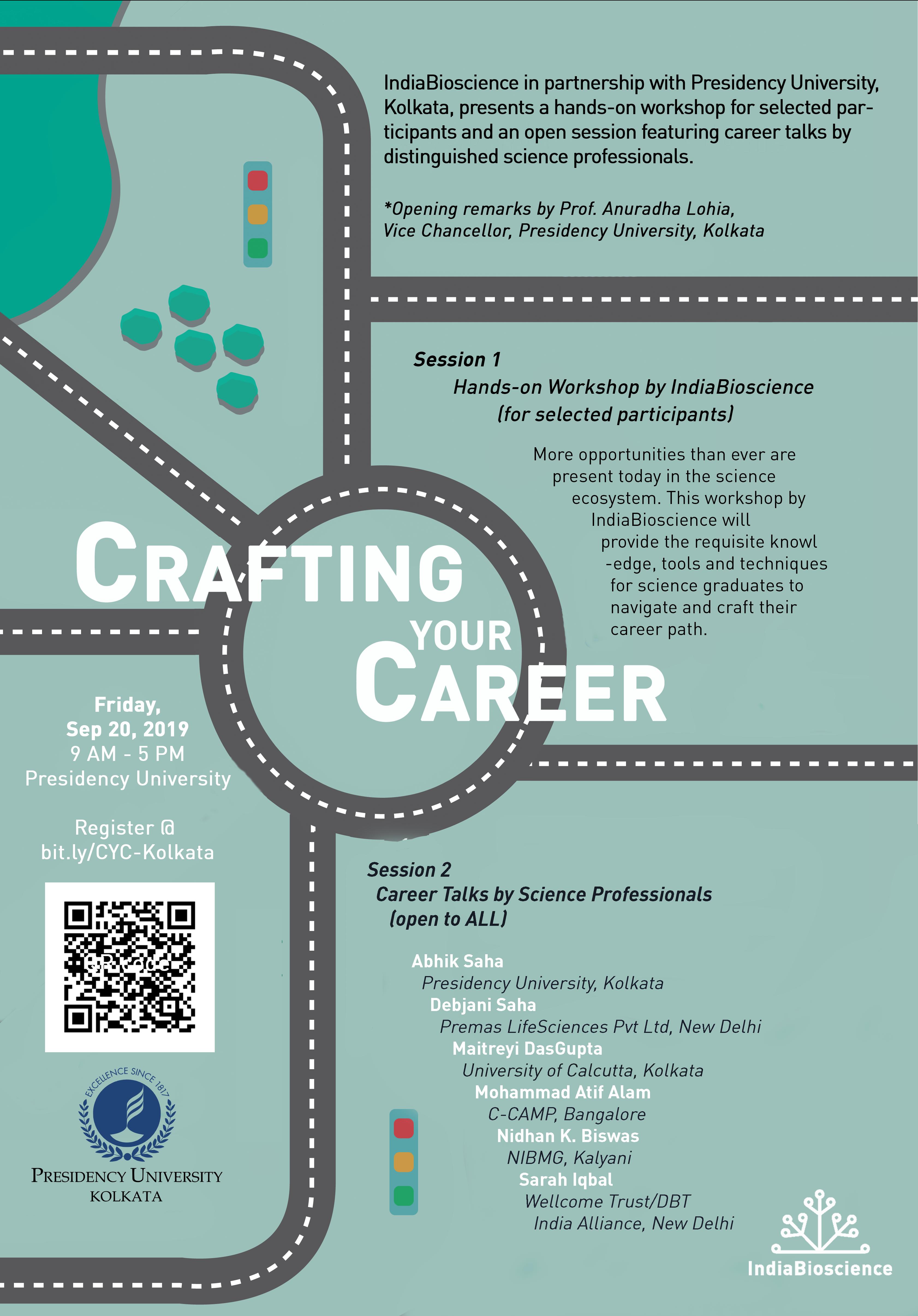 20190920 Crafting your Career Kolkata copy