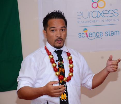 Damanbha Lyngdoh, Science Slammer 2016
