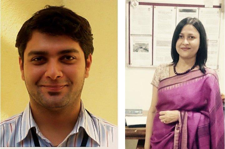 Asim Auti (left), Urmi Bajpai (right)