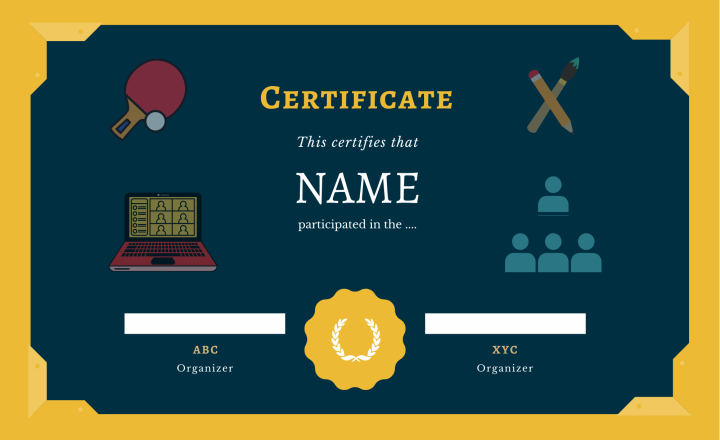 Certificate article2