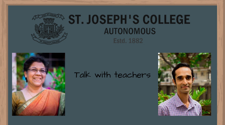 St. Joseph'S College faculty - Sandra and M.B. Madappa