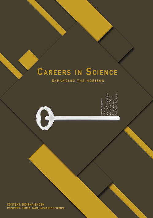 An eBooklet on Careers in science