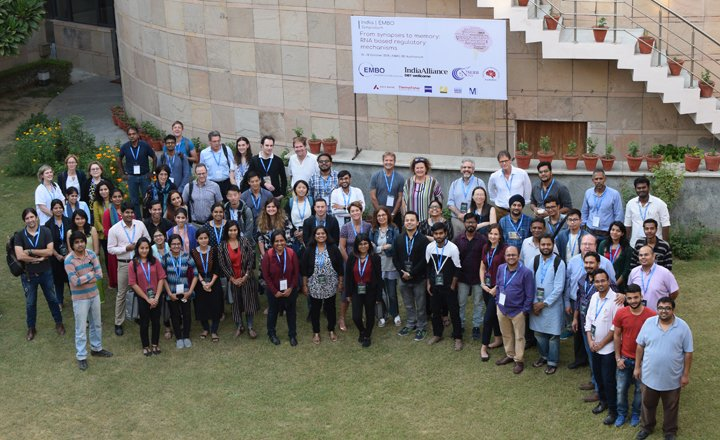 Participants at the India-EMBO Symposium, NBRC, Manesar