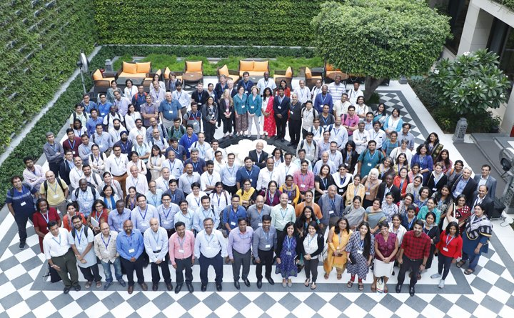 Attendees at the India Alliance annual meeting