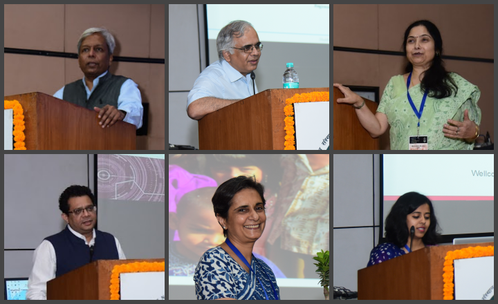 Glimpses of speakers at RYIM Delhi