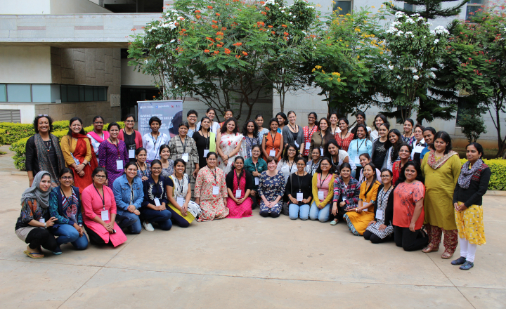 Participants and Instructors of the Workshop for Women in Science Journalism, 2018
