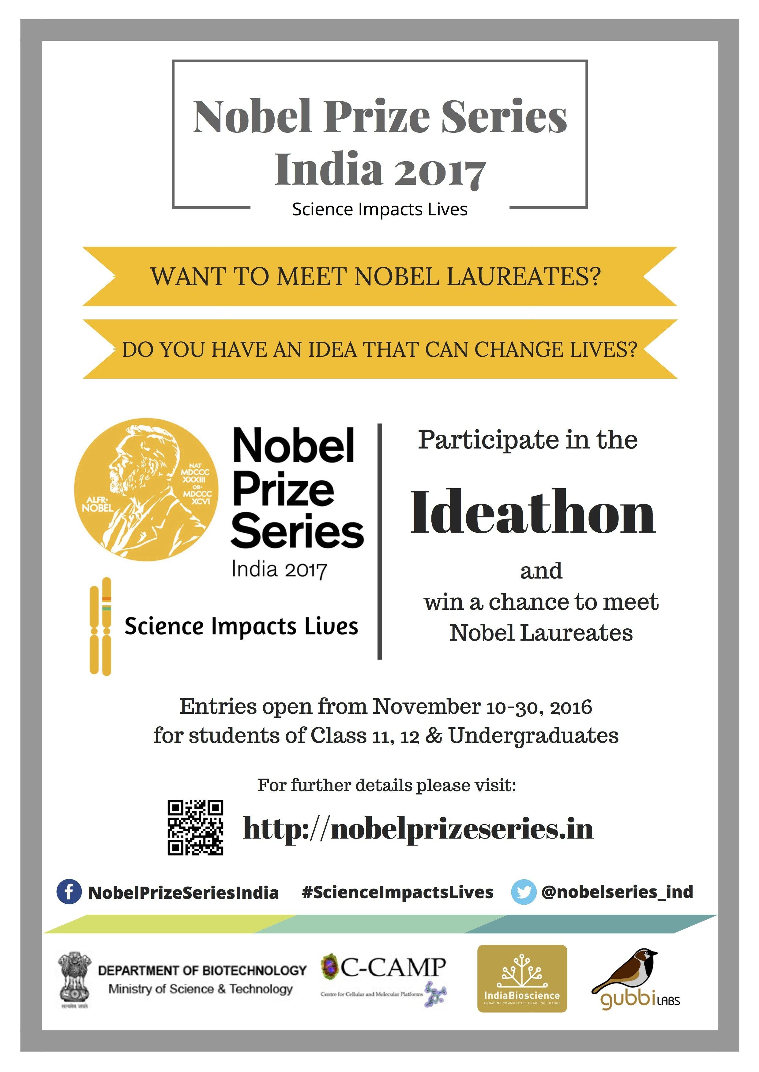 Ideathon Nobel Series 2017