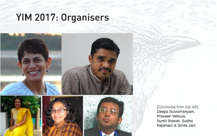 YIM 2017- the organising committe