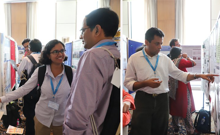 Fellows presenting their work at the 8th India Alliance annual meeting