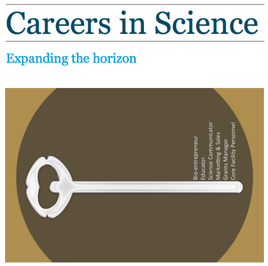 E-booklet on careers in science