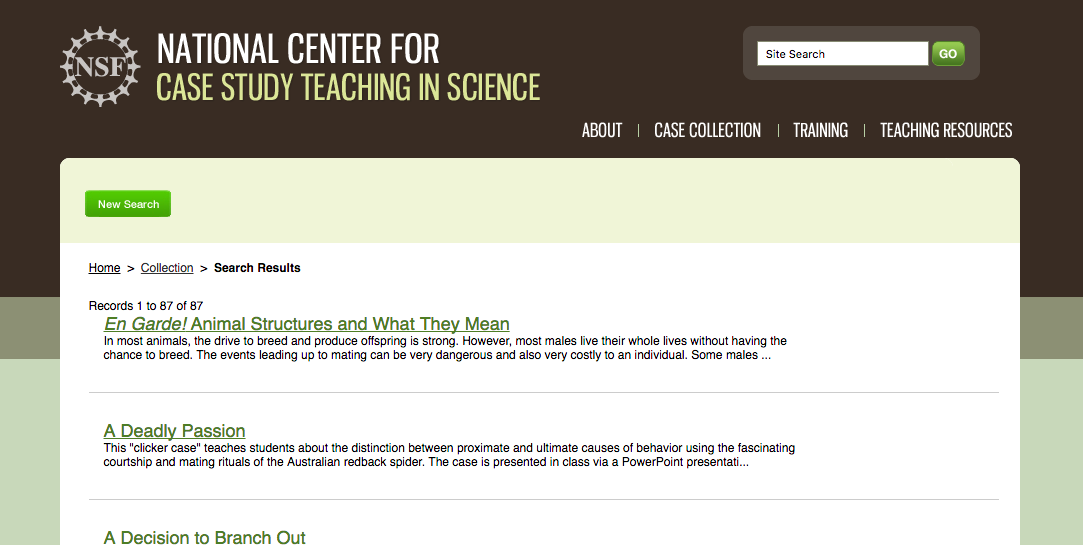 National Science Foundation Case Studies