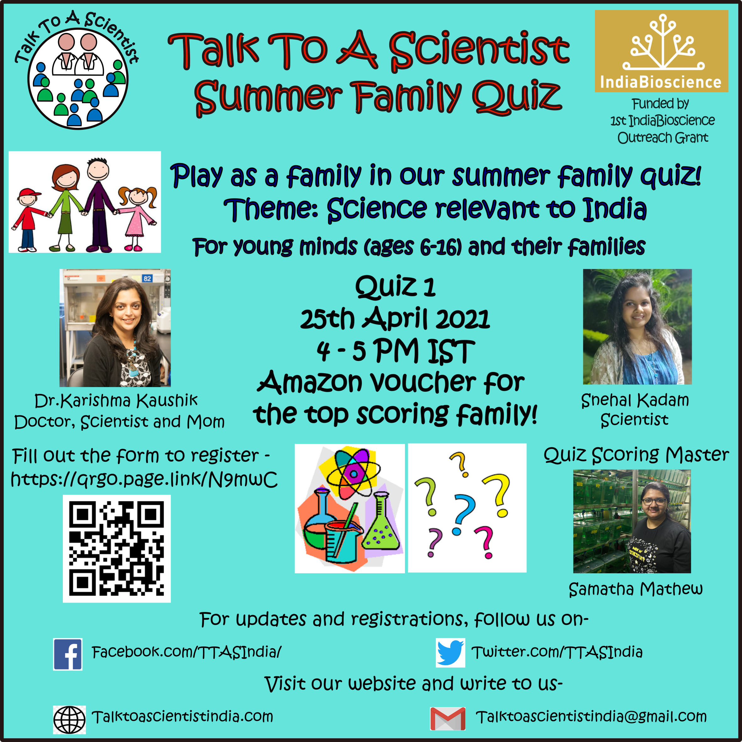 TTAS Summer Family Quiz - 1