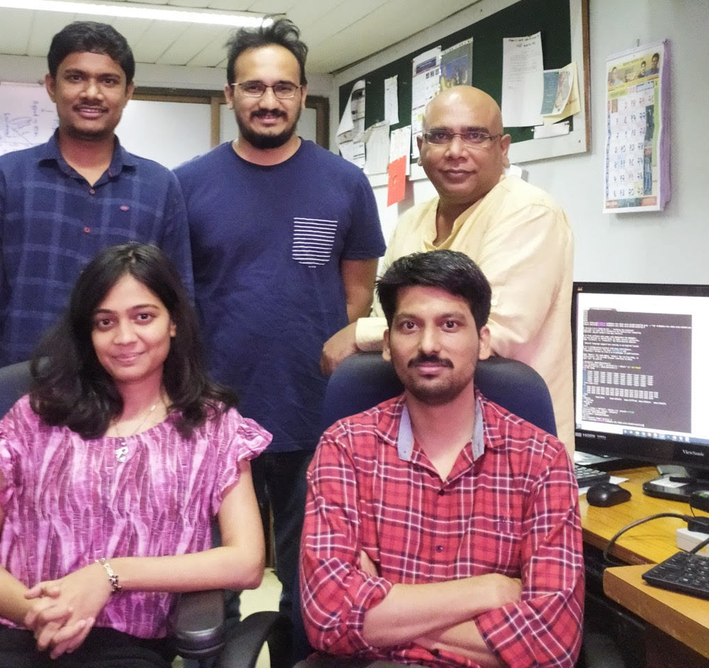 Team of researchers working on this project at Dutt Lab