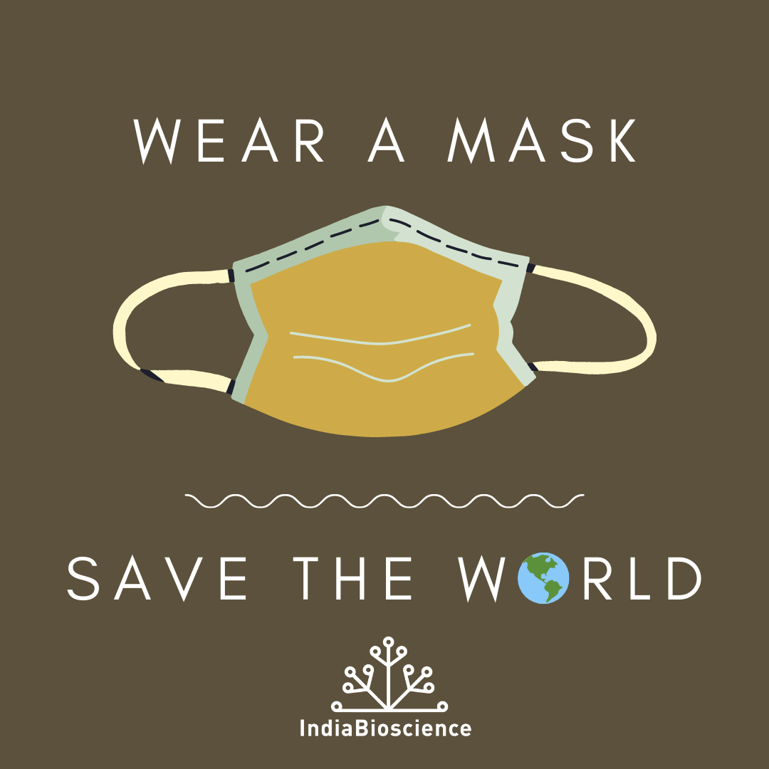 Wear a mask save the world