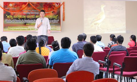 Suhel Quader talks about birds, behaviour and citizen science