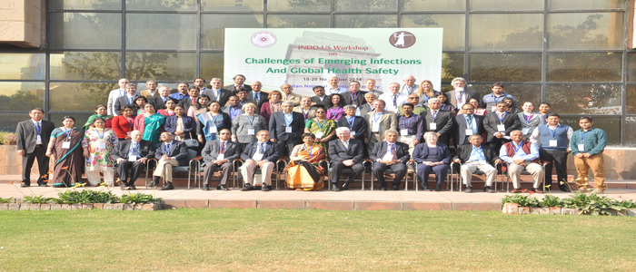 Participants of the Indo-U.S. Workshop