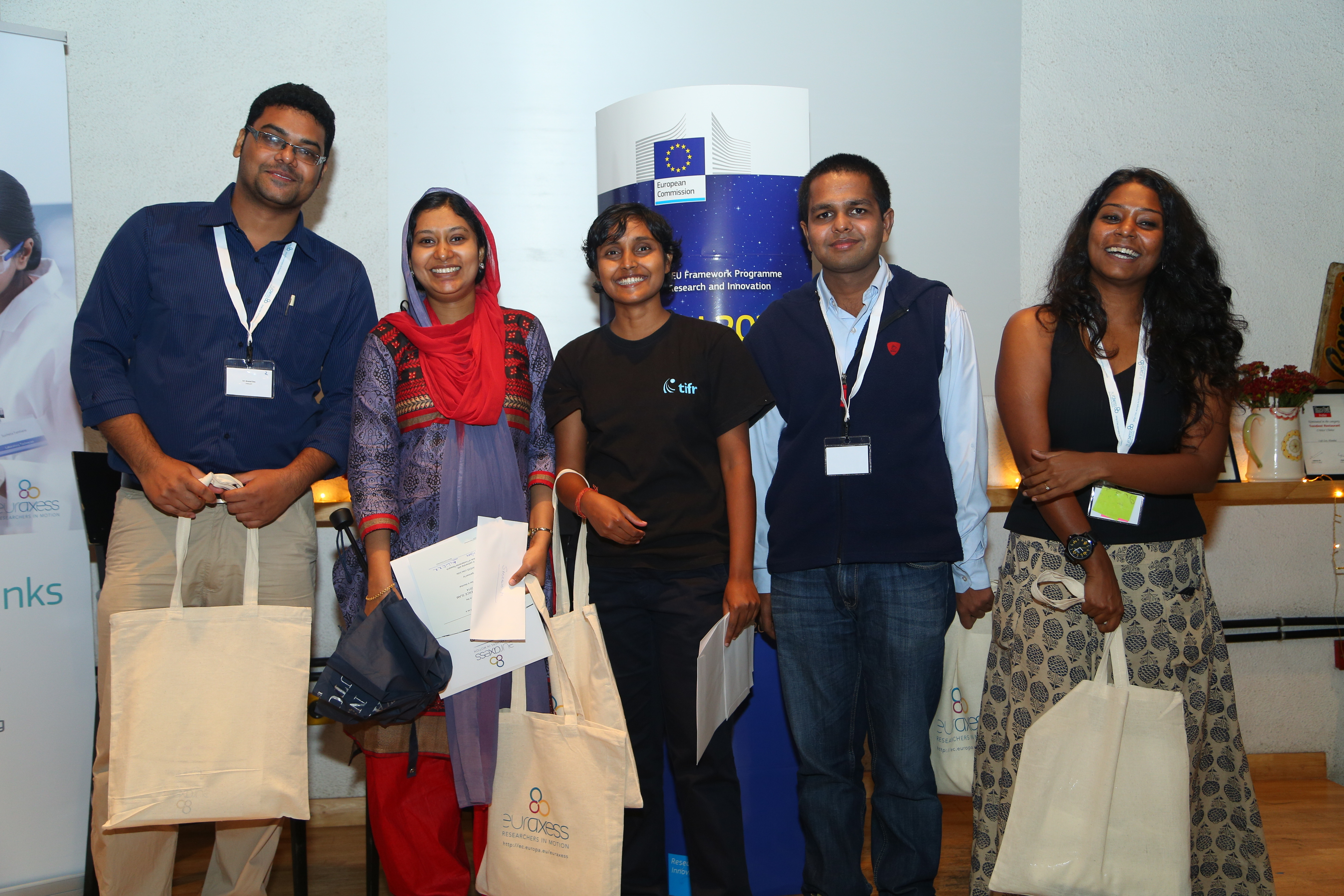 Science Slam India 2014 finalists