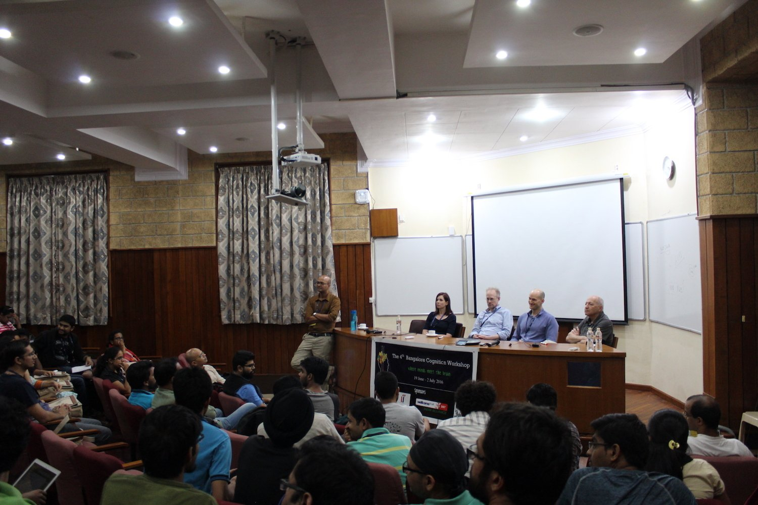 From the workshop: a panel discussion on vision