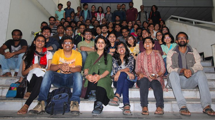 Students, postdocs and faculty of CES, IISc