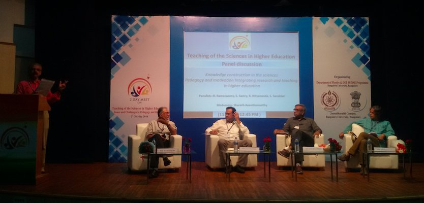 "Panel discussion on ""Knowledge construction in the sciences"""