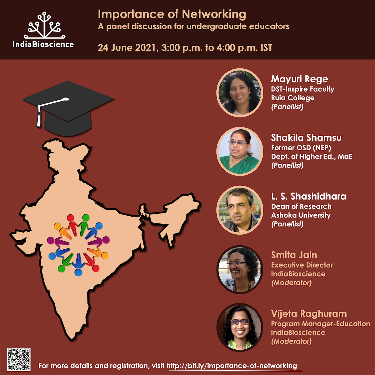 Importance of Networking- a panel discussion for undergraduate educators