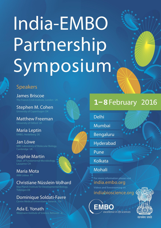 India-EMBO Partenrship Symposium