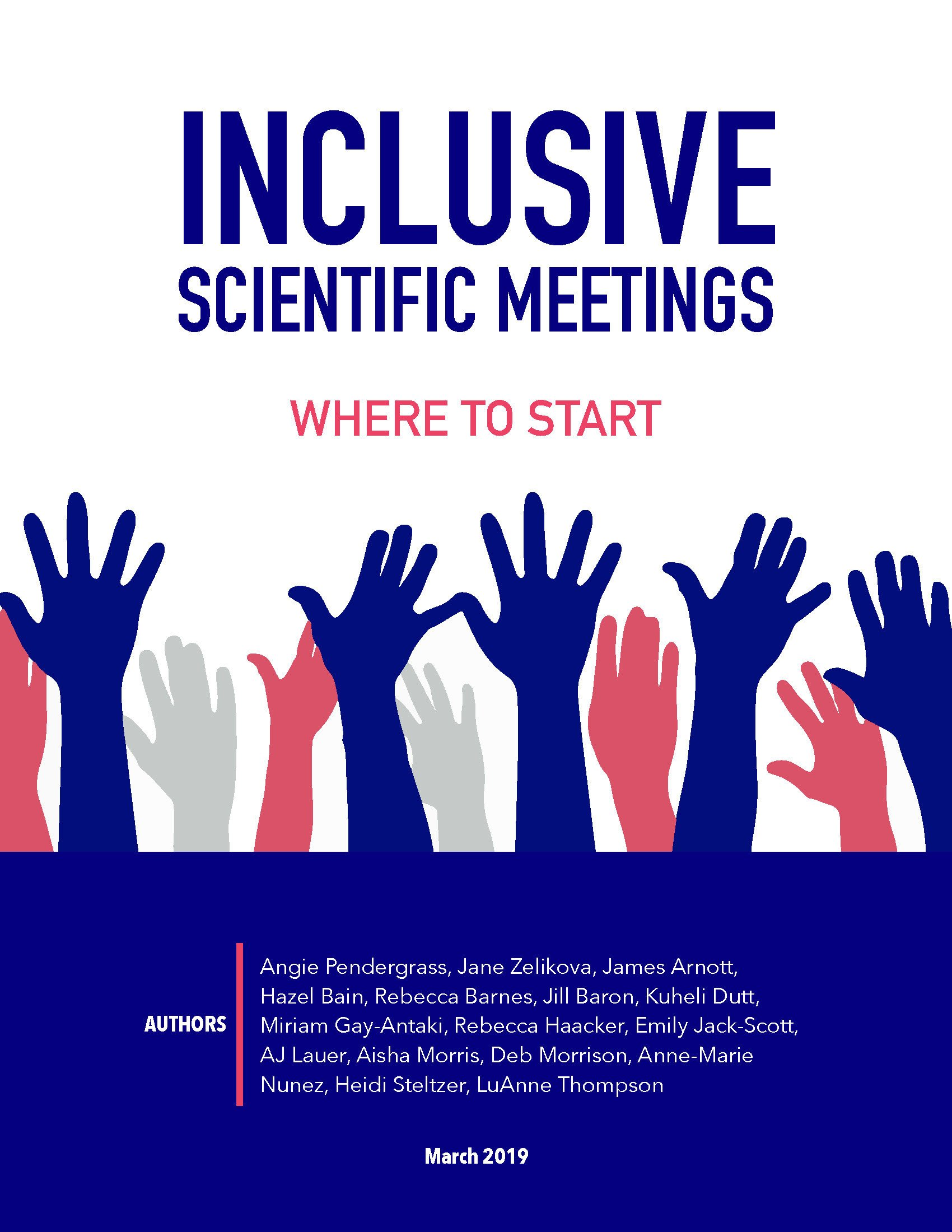 Guideline to Inclusive Scientific Meetings