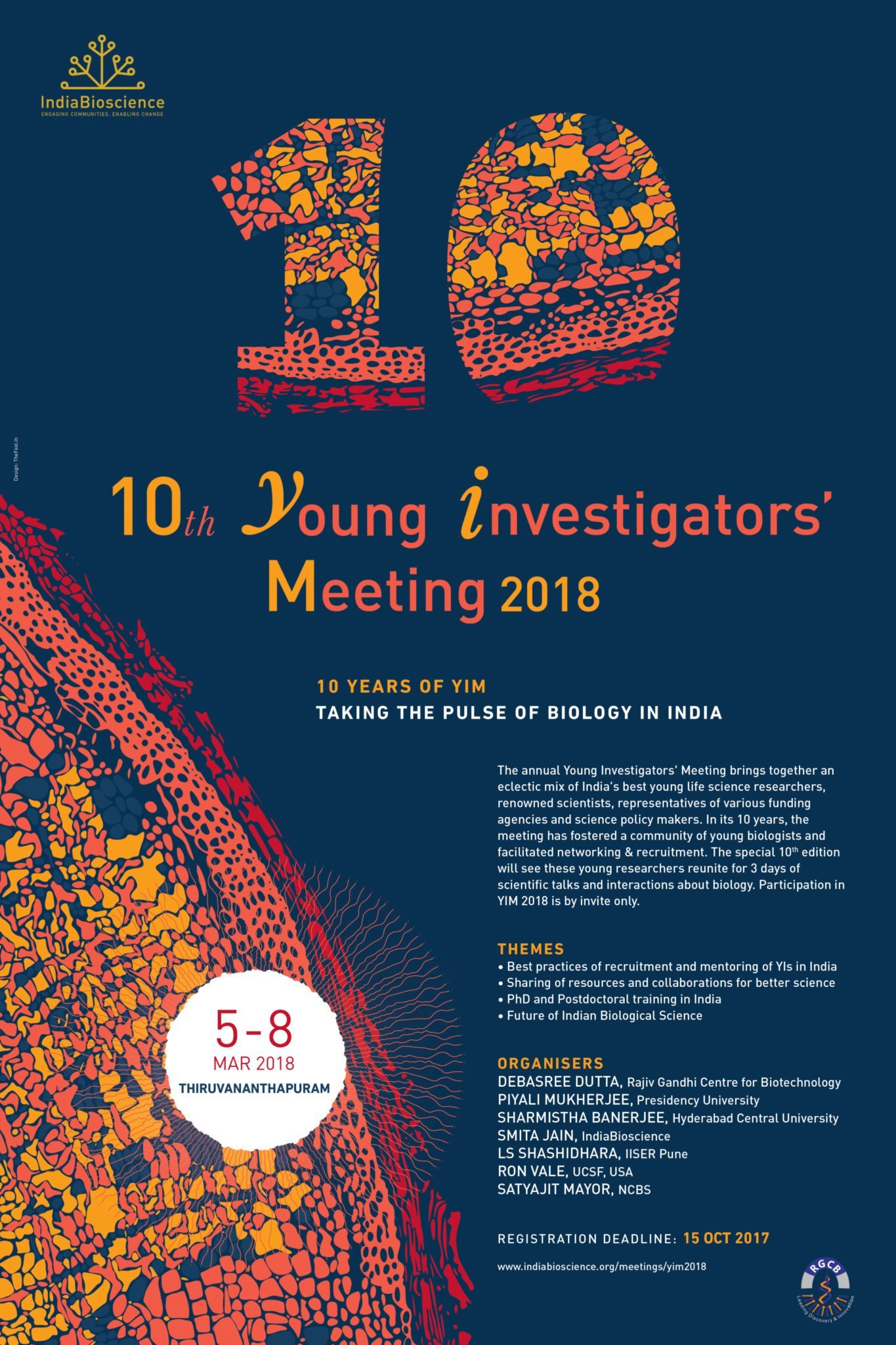 Poster for YIM 2018