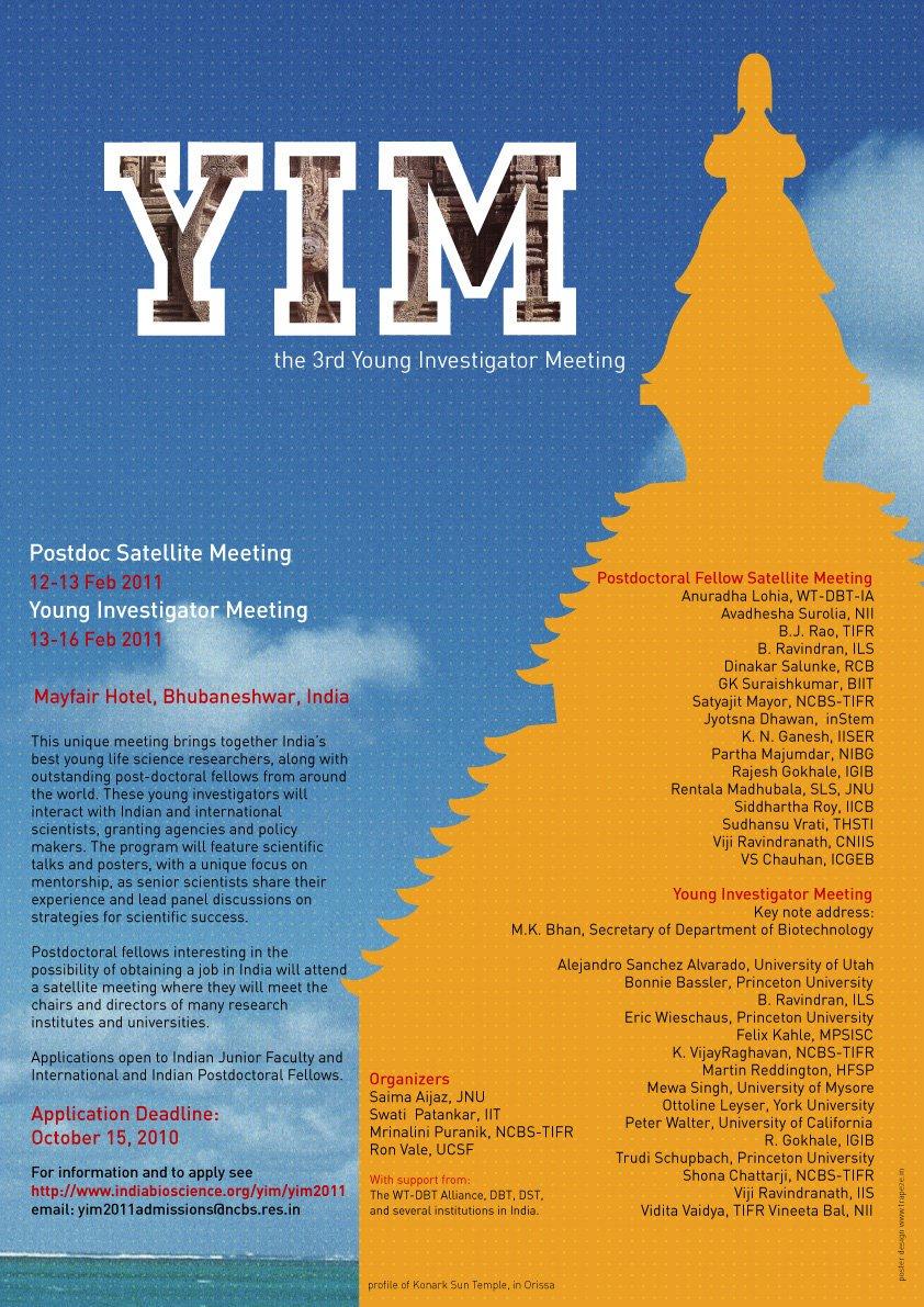 YIM 2011 Poster